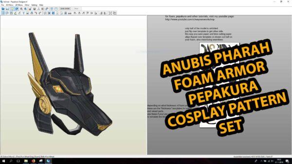Pepakura Template Overwatch Anubis Pharah