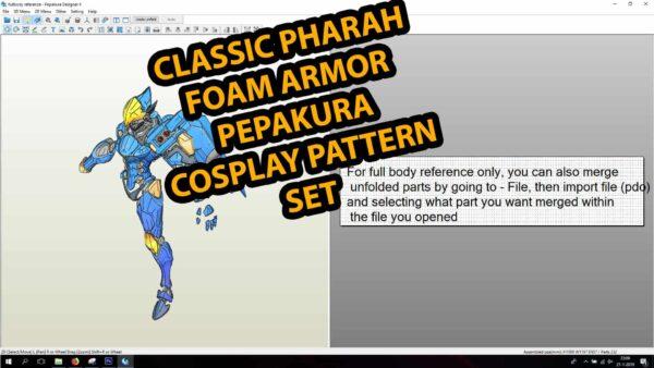 Pepakura Template Overwatch Classic Pharah