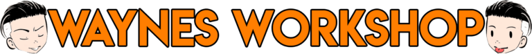 Waynes Workshop logo transparant