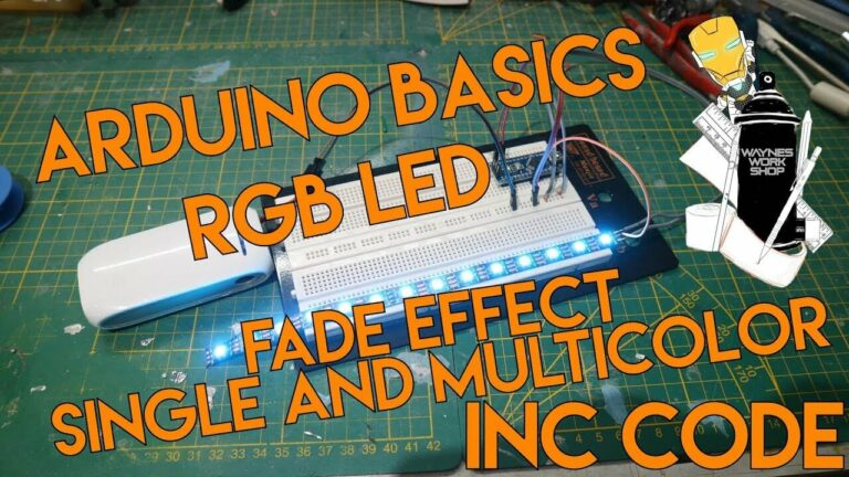 YouTube Arduino Basics Fade Rgb Led Inc Cod