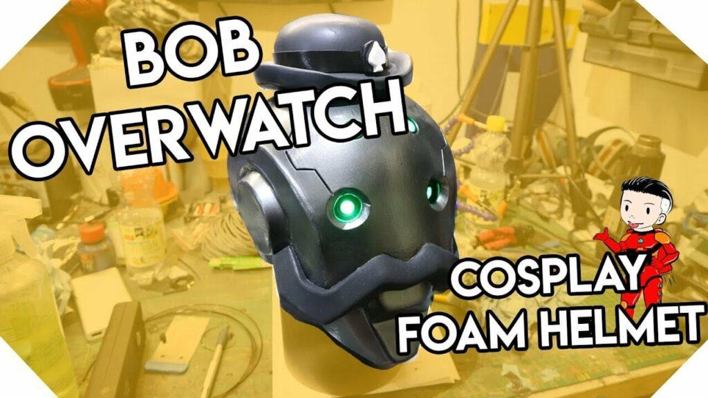 YouTube Bob Overwatch Cosplay Foam Helmet F