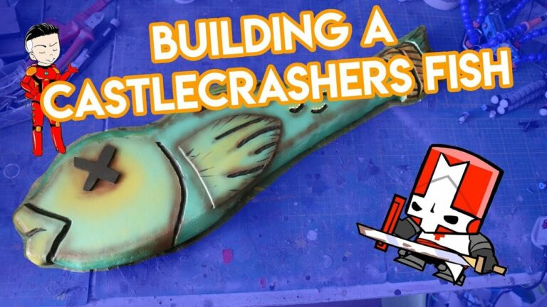 YouTube Building A Castlecrashers Fish Tuto