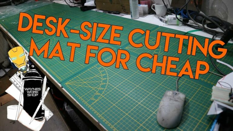 YouTube Desksize Cutting Mat For Cheap