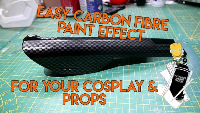 YouTube Easy Carbon Pattern Effect For Cosp
