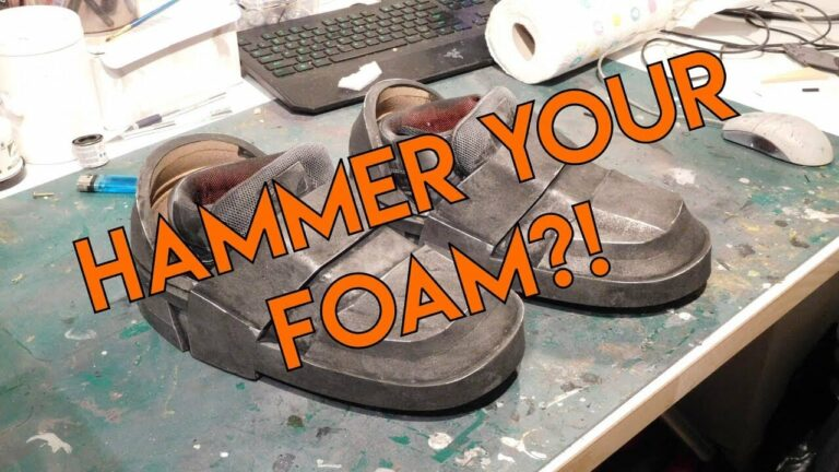 YouTube Easy Hammered Weathering For Foam A