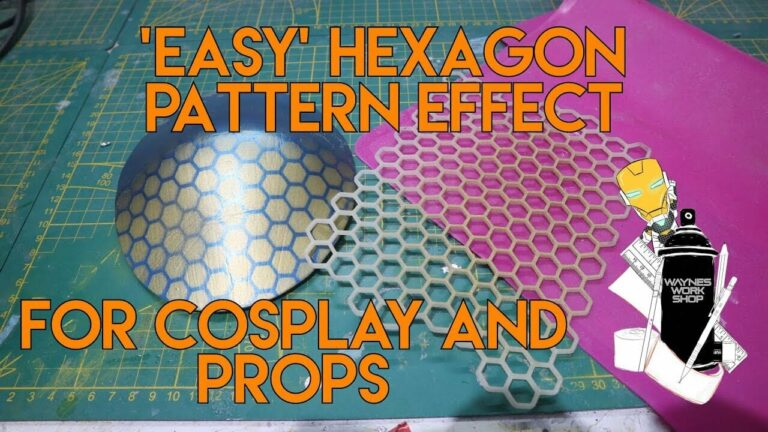 YouTube Easy Hexagon Pattern Effect For Co