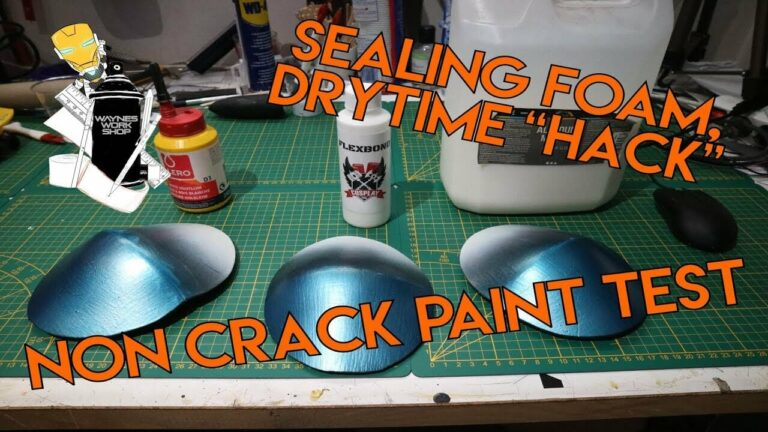 YouTube How I Seal Foam Drytime Hack And No