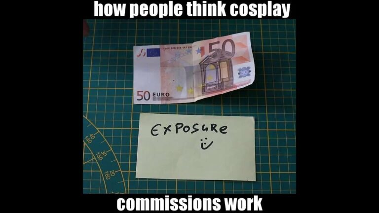 YouTube How People Think Cosplay Commission