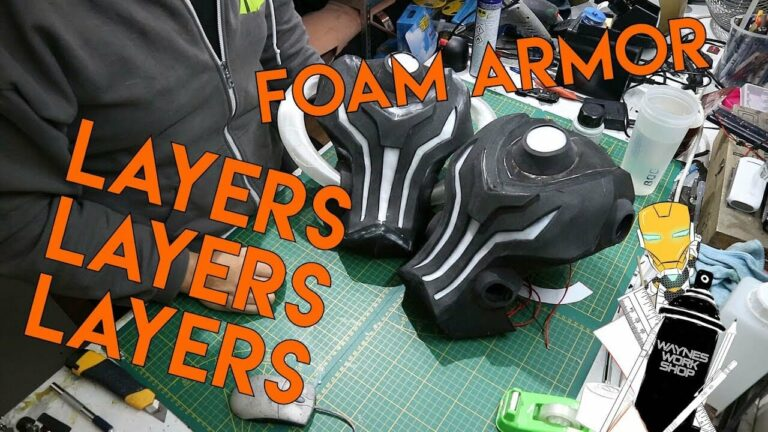 YouTube How To Layer Your Foam Armor Detail