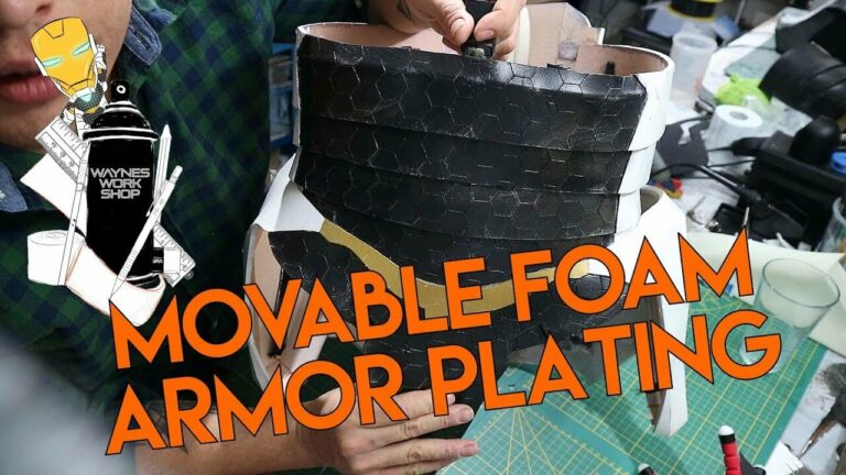 YouTube Movable Foam Armor Plating