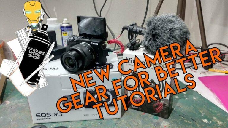YouTube New Camera Gear For Tutorials Yay