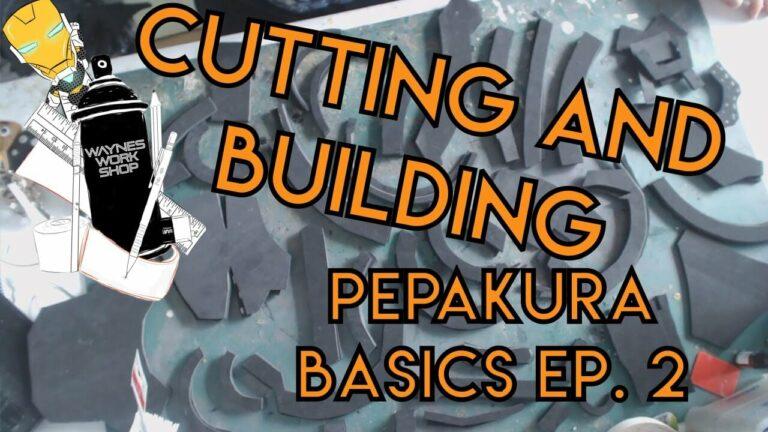 YouTube Pepakura Basics Cutting And Buildin