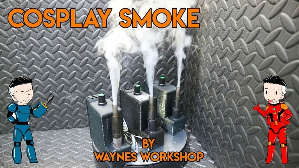 YouTube Cosplay Smoke by Waynes Workshop